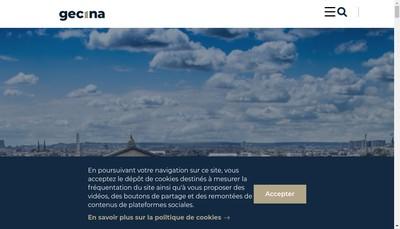 Site internet de Gecina
