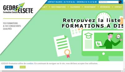 Site internet de Elsete