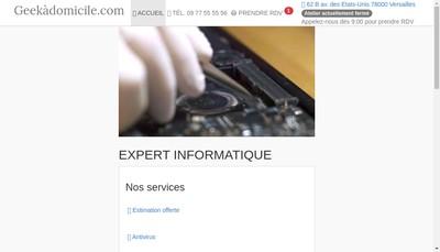 Site internet de Geekadomicile
