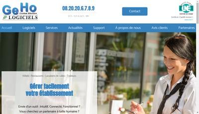 Site internet de Geho