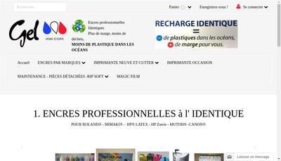 Site internet de Gel