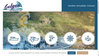 Site internet de Etablissements Gelgon