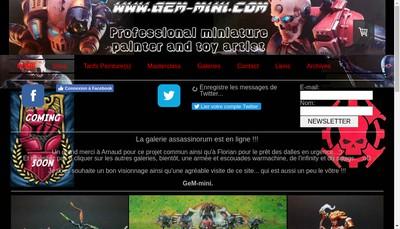 Site internet de Mickael Grandjean