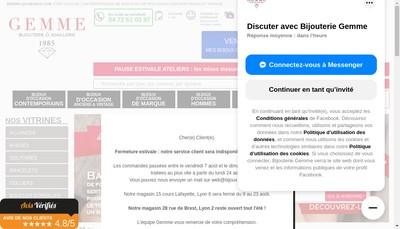 Site internet de Gemme