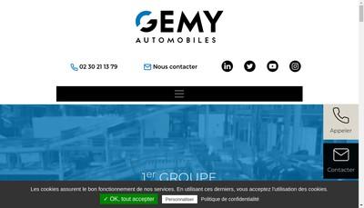 Site internet de Gemy