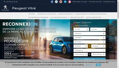Site internet de Gemy Vitre