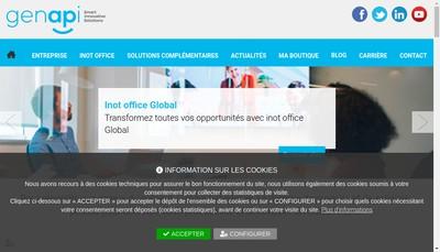 Site internet de Generations Applications Informatiques