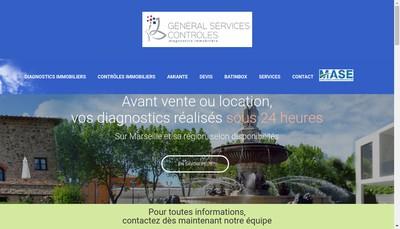 Site internet de General Services Controles