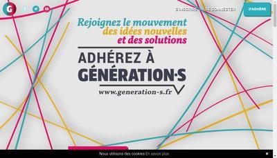 Site internet de Generation