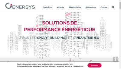 Site internet de Genersys Services