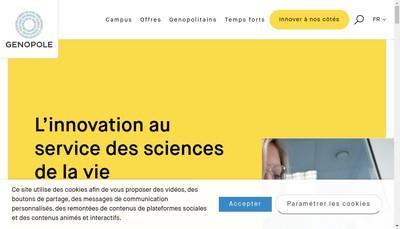 Site internet de G1J Ile de France