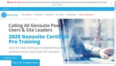 Site internet de Benchmark Digital Partners SARL