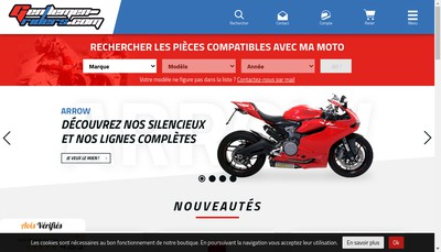 Site internet de Gentlemen Riders Gtpc