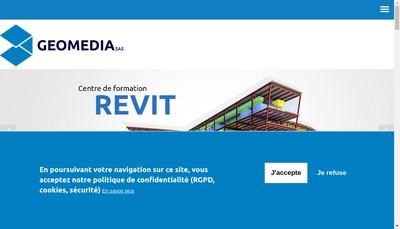 Site internet de Geomedia