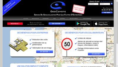 Site internet de Geocoyote