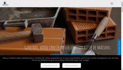 Site internet de Geoffroy Construction