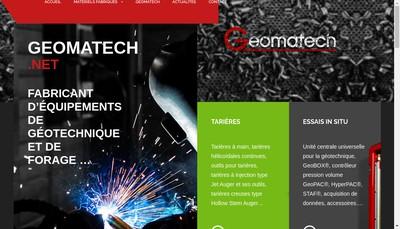 Site internet de Geomatech