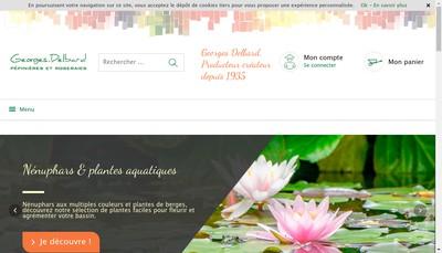 Site internet de Georges Delbard Com