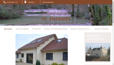 Site internet de Ff Energies
