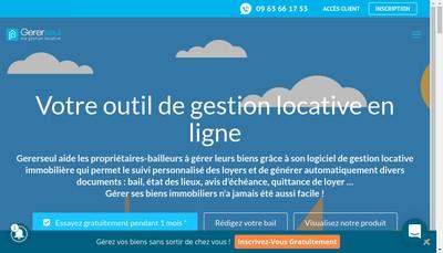 Site internet de Gererseul Com