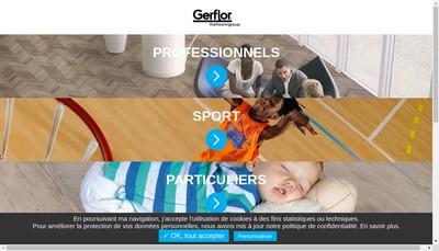 Site internet de Gerflor