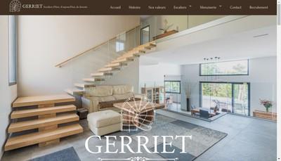 Site internet de Gerriet Escaliers