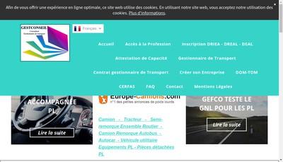 Site internet de Gestconseil