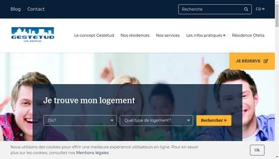 Site internet de Le Michel Ange - Otelia