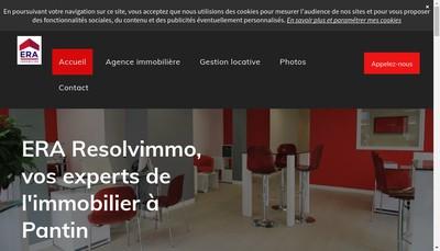 Site internet de Resolvimmo
