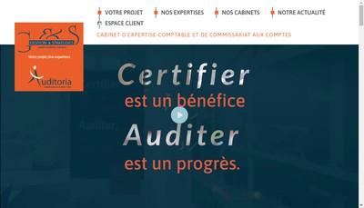 Site internet de Gestion et Strategies