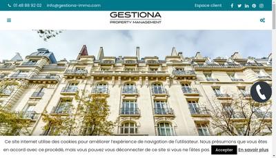 Site internet de Gestion Passy