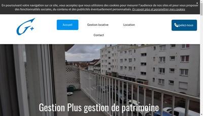 Site internet de Gestion Plus