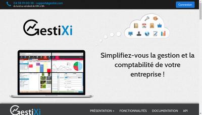 Site internet de Gestixi
