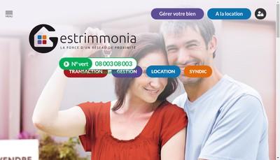 Site internet de Gestrimmonia