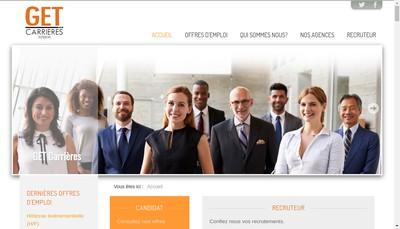 Site internet de Get Carrieres Industrie