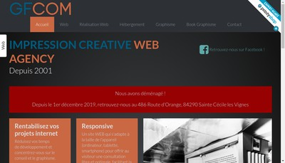 Site internet de Gfcom