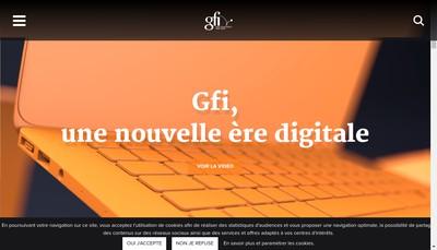 Site internet de Gfi 8