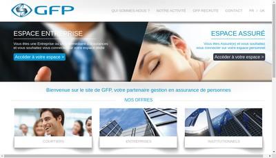 Site internet de Gestion Formation Prevoyance et Services Associes