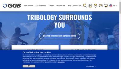 Site internet de Ggb France EURL