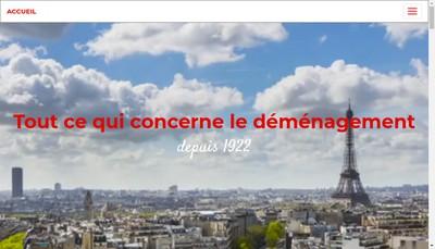 Site internet de Gibergues - Demenagements Gibergues - Ledeme- Demenagements Batignolles - Odoul - Chatelard Aine