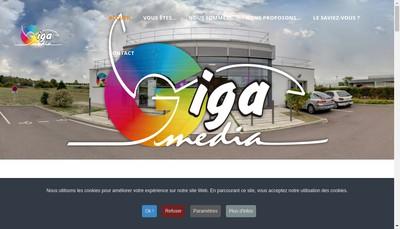 Site internet de Giga Media