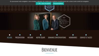Site internet de Gaelle Burguy