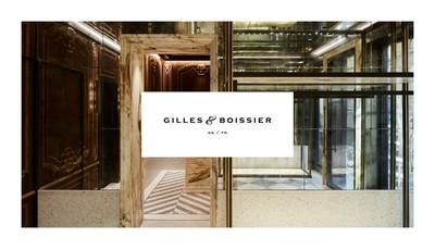 Site internet de Gilles & Boissier Prive