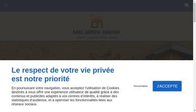 Site internet de Giorda Baudon