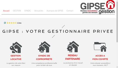 Site internet de Gipse