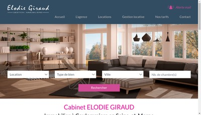 Site internet de Elodie Giraud