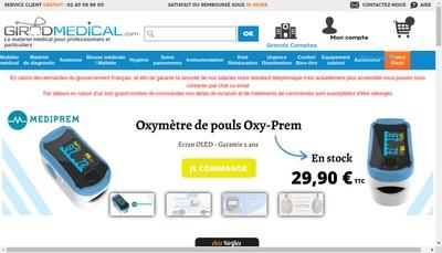 Site internet de Girodmedical