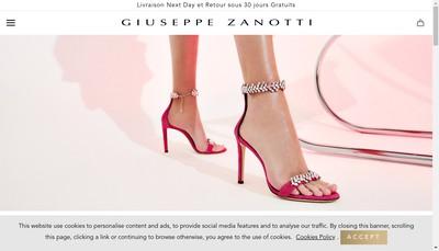 Site internet de Entreprise Zanotti