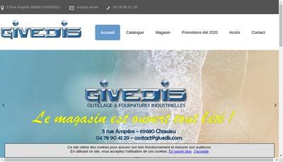 Site internet de Givedis