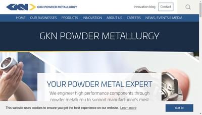 Site internet de Hkn Sinter Metals Spa